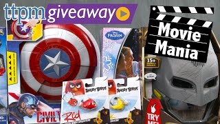 Win Movie Toys like Batman v Superman, Frozen, Angry Birds, Star Wars and more at #TTPMLive