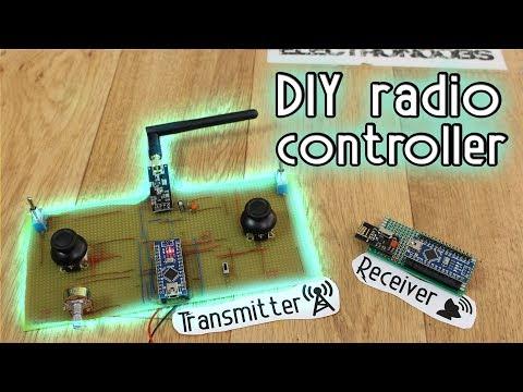 DIY Radio Controller - Arduino & NRF24 + amplified antenna