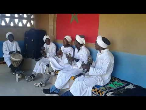 Música gnaoua berber in the desert Sahara Morocco