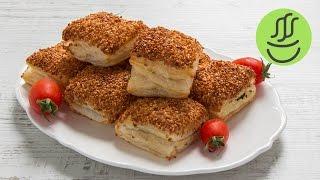 Simit Tadında 5 Dakikada Milföy Börek - Kahvaltılık Kolay Börek Tarifi