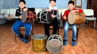 Урок дхола - армянская воскресная школа