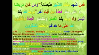 tafsir harfiyyah surah al-baqarah ayat  185 _sambung