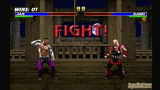 Mortal Kombat Trilogy Jax Arcade Ladder