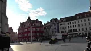 Montagsdemo Halle Saale wird kulturbereichert, wie in Schorndorf am 17.07.2017