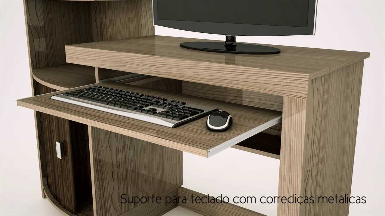 Mesa de computador shari vamol youtube for Mesa de pc