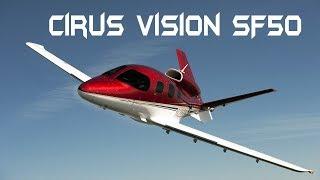 Cirus Vision SF50 На последней капле Женева-Калининград (LSGG-UMKK)