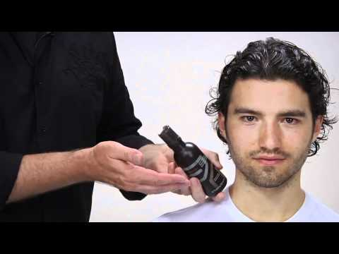 Aveda | How To Style Men's Long & Curly Hair