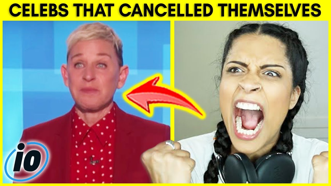 Top 10 Celebrities That Canceled Themselves