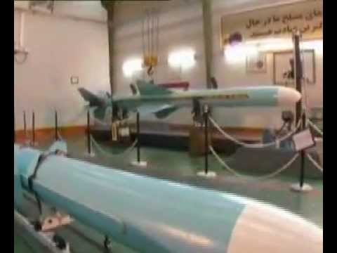 Iran shows off new marine cruise missile dubbed