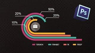 Как сделать инфографику в фотошопе