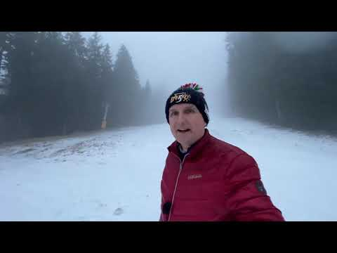 Snow ❄️ Falling: First Snow (2019/20 Ski Season)