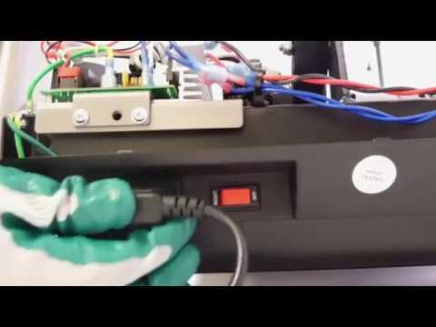 comment changer la carte de controle et la calibrer sur les tapis de course tc2 a tc10