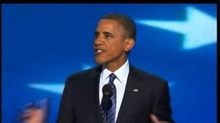 Robert Moore reports on Obama's speech