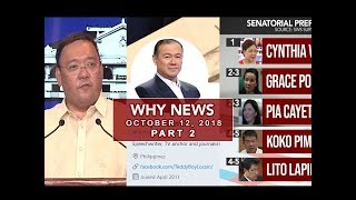 UNTV: Why News (October 12, 2018) Part 2