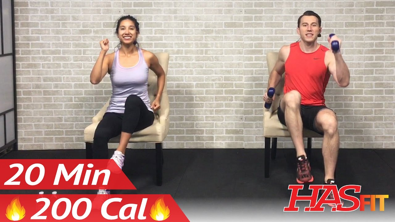 Chair Exercise Workout Plan For Beginners 2 Great Workouts You Can Do Sitting