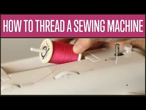 how to thread a bobbin singer simple sewing machine