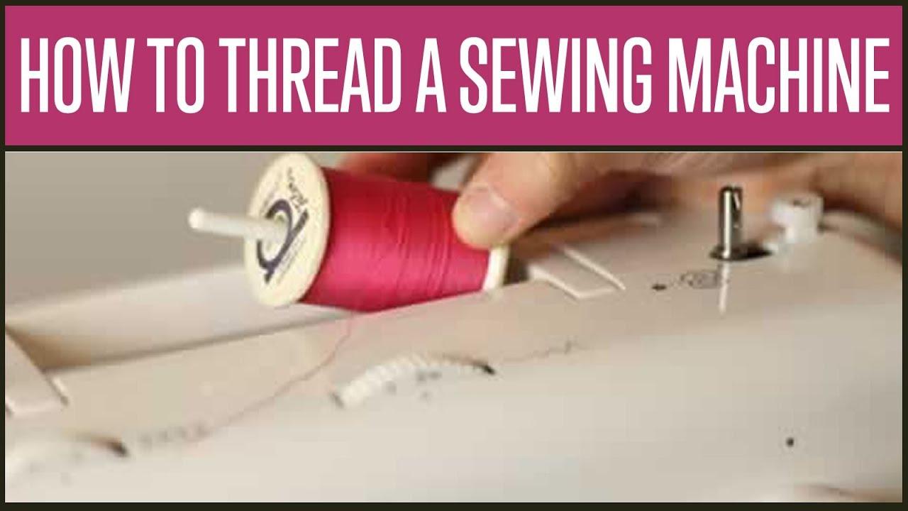 How Do I Thread A Singer Sewing Machine Youtube 247 Threading Diagram