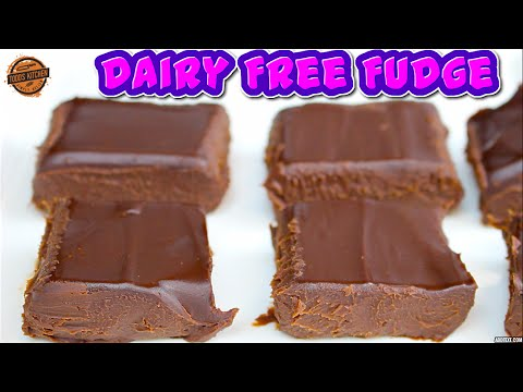 Dairy Free Fudge Recipe - How to make Fudge