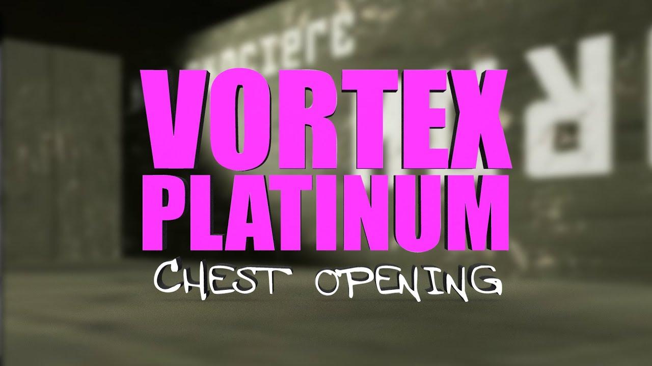 Red Crucible Firestorm BETA : Vortex Platinum Chest Opening