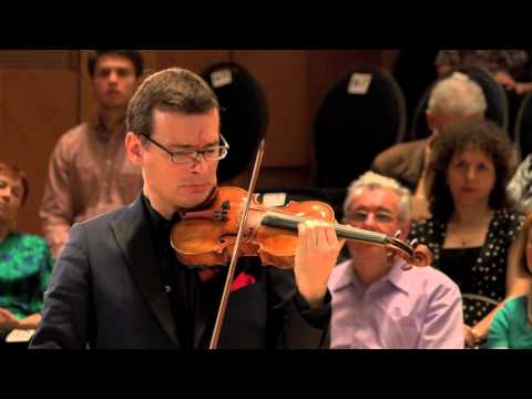 Alexandru Tomescu and Eduard Kunz perform Scherzo for violin and piano by Gabriel Gîţan