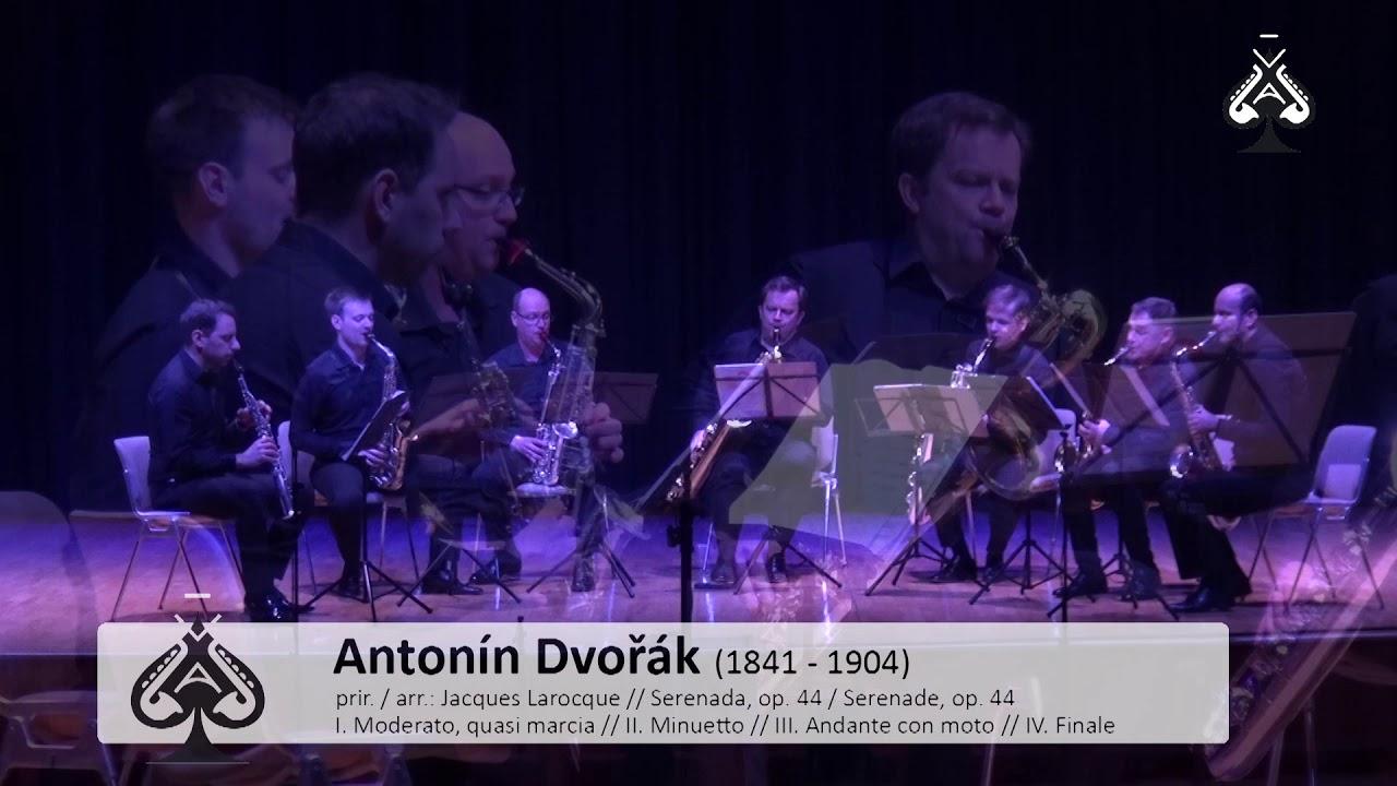 Adolphesax.com - AS Festival - Antonin DVORAK - Serenade Op44 Sax Octect