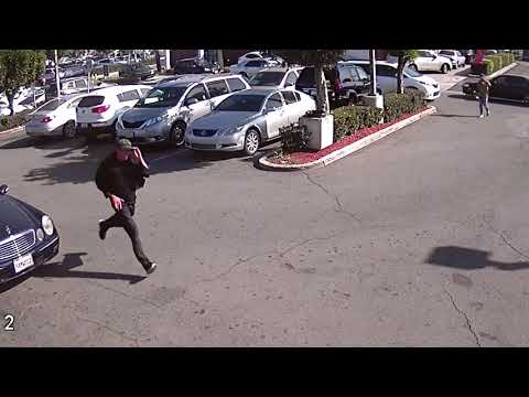 Footage of suspect in Garden Grove attempted murder of 89-year-old man
