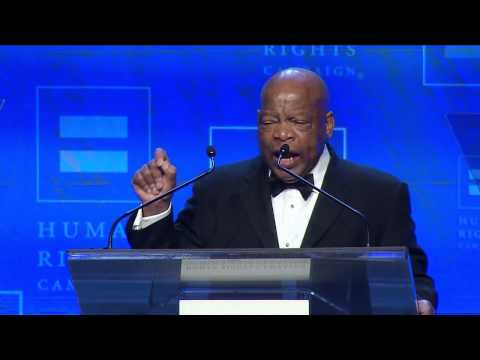 Rep. John Lewis at the 2014 HRC Atlanta Gala