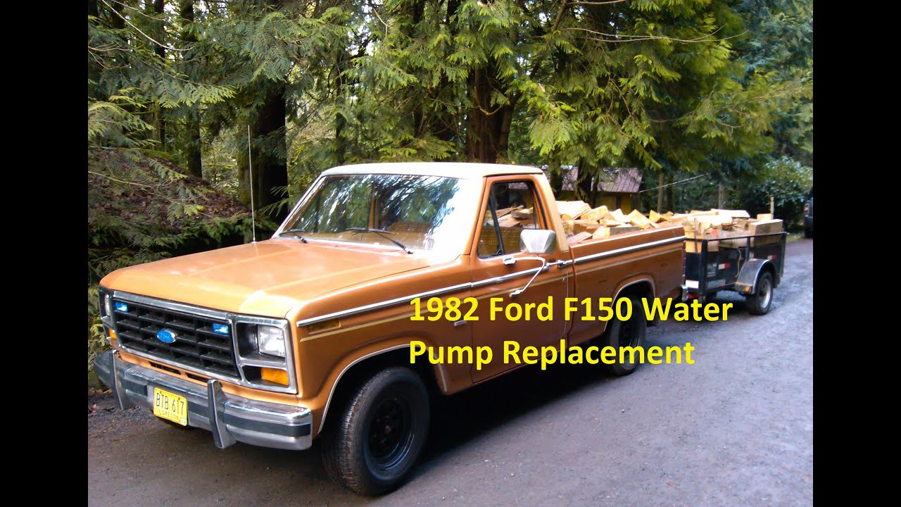 1982 Ford F150 Water Pump Replacement 351w Youtube 1994 4 0 Engine Diagram Fan