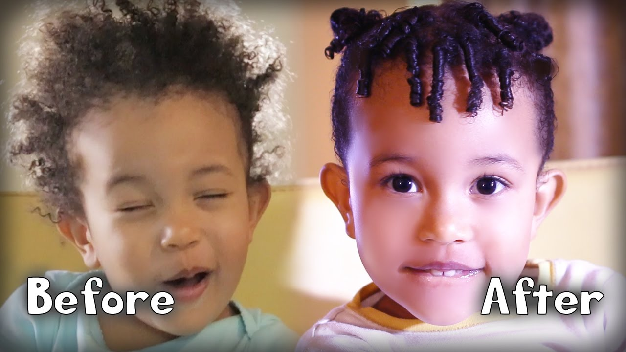mixed race toddler hair care routine