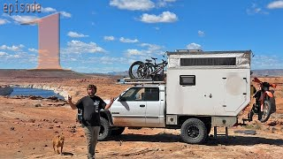 EP:01 FINANCIAL ADVISOR QUITS JOB to LIVE ON THE ROAD in a 4x4 TRUCK CAMPER