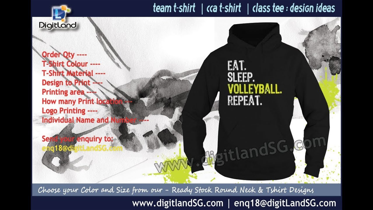 Class Tshirt Printing Sg Action For Fashion With Digitland Youtube