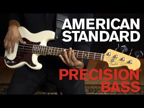 American Standard Precision® Bass Demo   Fender