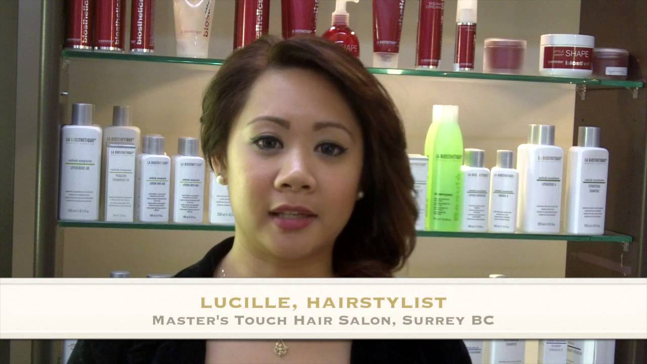 Lucille Masters Touch Salon Youtube