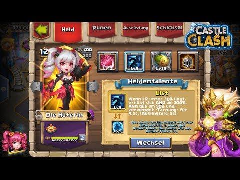 Das Neue Talent List! Wo Zu Gebrauchen? | Castle Clash | Schloss Konflikt