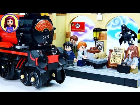 Lego Harry Potter Hogwarts Express Build Review Silly Play - Kids Toys