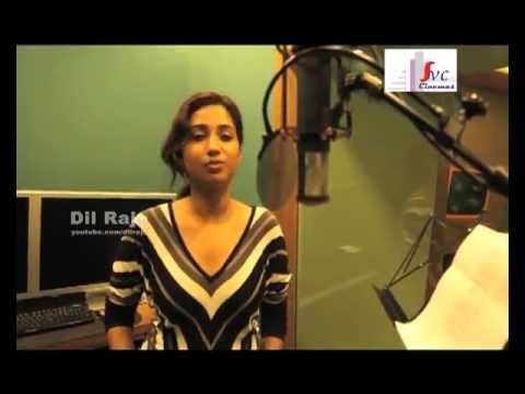 Ram Charan Yevadu Sreyagoshal Nee Jathaga Song Recording HD