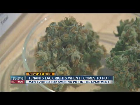 Tenants lack rights when it comes to marijuana