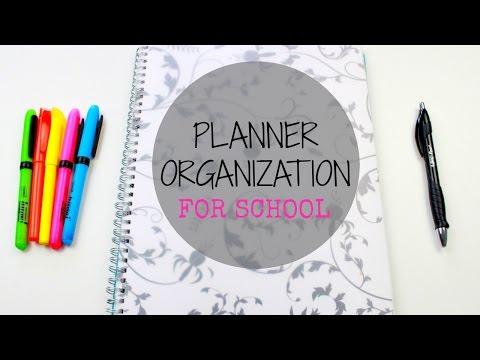 Planner Organization For School