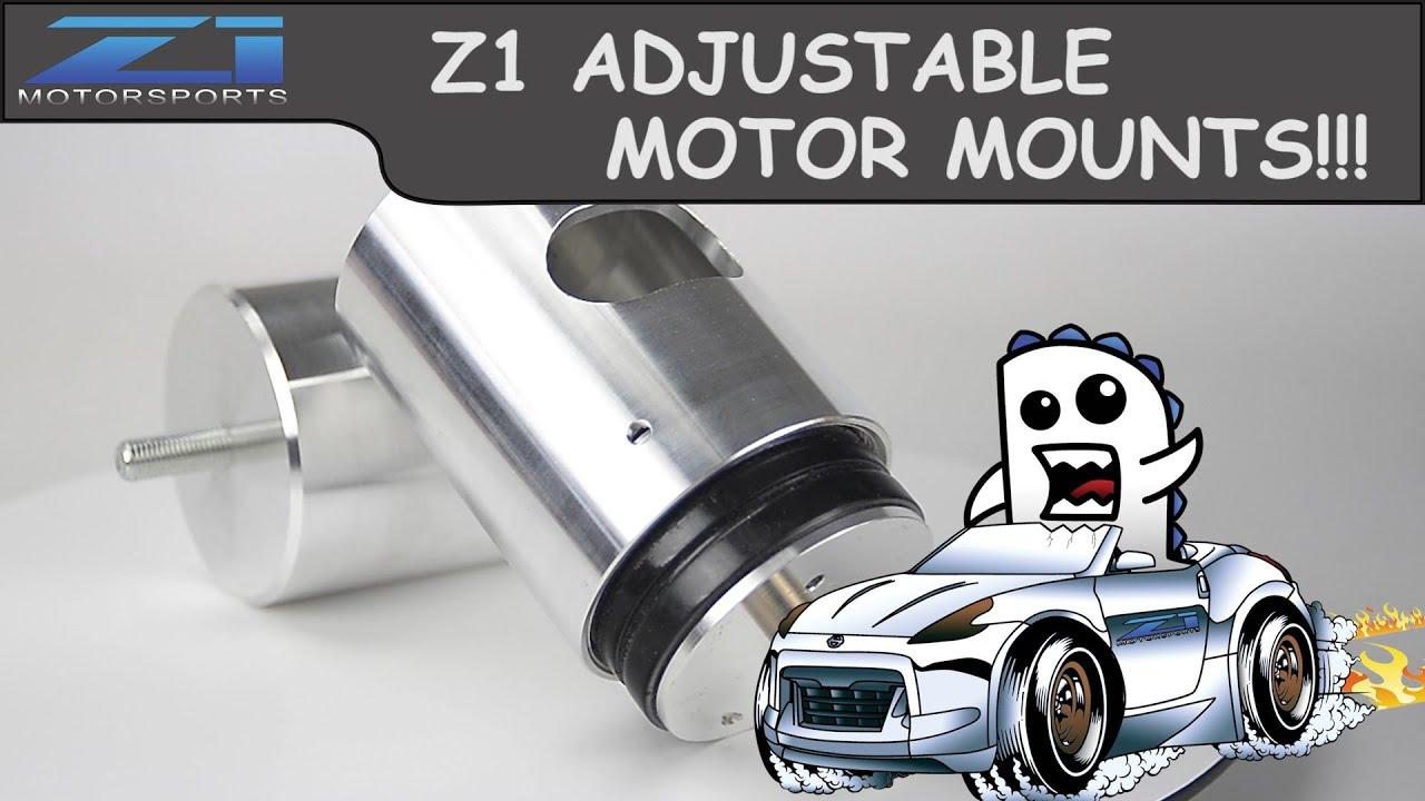 Z1 Motorsports -350z / 370z Upgraded Urethane Motor Mounts