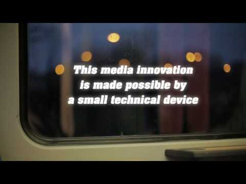 Vibrating train window to play ads through the skulls of tired commuters - Boing Boing