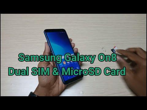 Samsung Galaxy On8 Insert Dual SIM & MicroSD Card