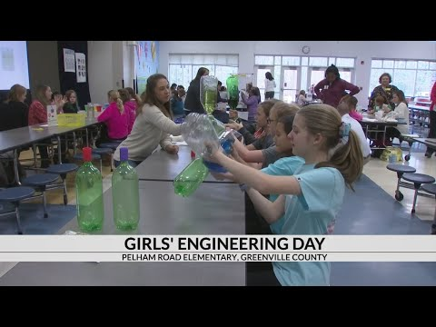 Pelham Road Elementary School holds Girls Engineering Day