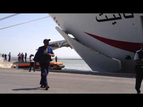Navire Géant TANIT CTN Tunisia le grand bateau HD Quality