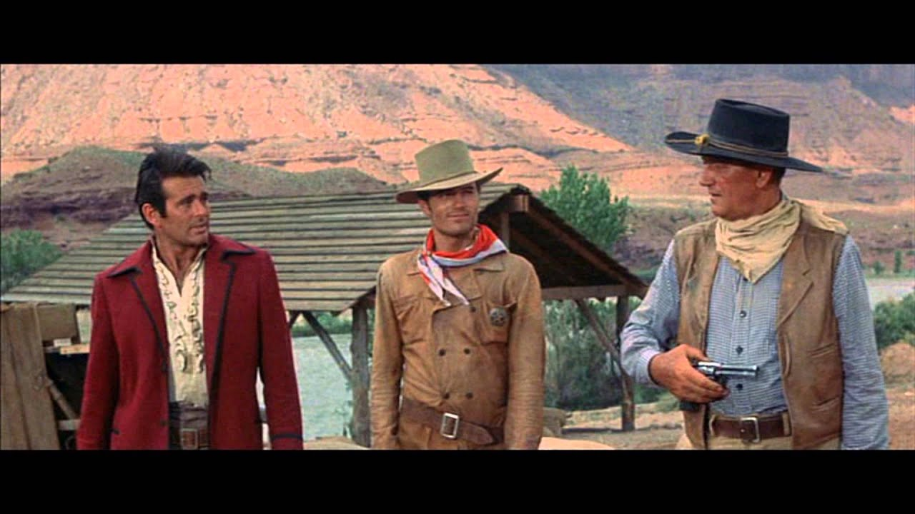 John Wayne The Comancheros Youtube