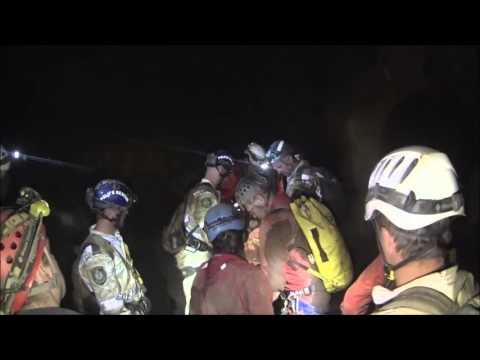 Cave Rescue Squad training 2015
