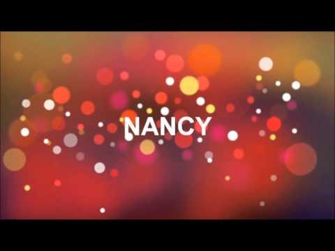 chanson anniversaire nancy