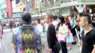 6月22日 渋谷周辺憲法サウンドデモ.