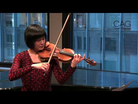 A Career with Intention: CAG Alum Violinist Jennifer Koh