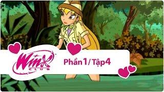 Phim Viet Nam | Winx Club Phần 1 Tập 4 Đầm lầy đen trọn bộ | Winx Club Phan 1 Tap 4 Dam lay den tron bo