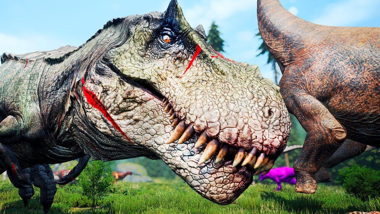 Download Supremo Hypo Rex! H-Rex vs H-Rex! Supremacia Hyperendocrin   The Isle   (PT/BR)